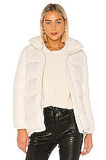 ADD Short Down Cape in Ivory