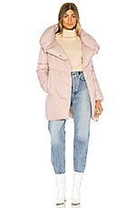 ADD Hooded Short Down Jacket in Primrose