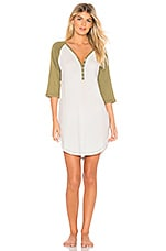 ANDERSON Casey Nightie in Eggshell & Olive