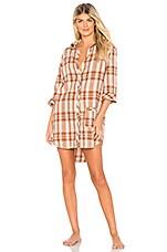 ANDERSON Jo Flannel Sleep Shirt in Ojai
