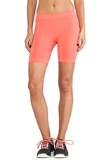 YO Seamless Short in Bright Coral