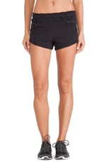 Yoga Knit Shorts in Black
