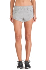 Yoga Knit Shorts in Core Heather