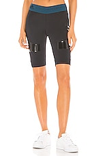 adidas by Stella McCartney Hybrid Short in Black