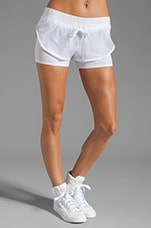 Athletic Short in White