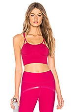 adidas by Stella McCartney Seamless Bra in Bold Pink