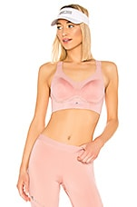 adidas by Stella McCartney Stronger Soft Sports Bra in Band Aid Pink