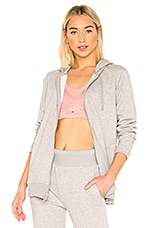 adidas by Stella McCartney Hoodie in Medium Grey Heather