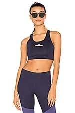 adidas by Stella McCartney The Pullon Bra in Noble Ink