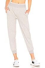 adidas by Stella McCartney Sweatpant in Medium Grey Heather