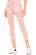 adidas by Stella McCartney Short Over Legging in Band Aid Pink