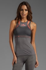 Run Perf Tank in Sharp Grey