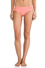 Swim CU Bottom in Bright Coral