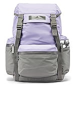 adidas by Stella McCartney Backpack in Iced Lavender & Pearl Grey