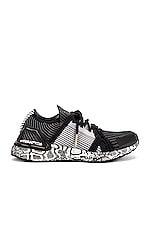 adidas by Stella McCartney Ultraboost 20 Sneaker in White & Black