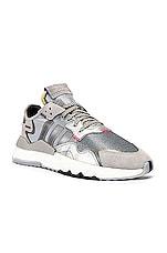 adidas Originals Nite Jogger in Silver Metallic & Light Grey & Black
