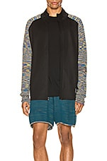 adidas by MISSONI PHX Jacket in Black & Active Gold
