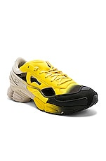 adidas by Raf Simons Replicant Ozweego Sneaker in Yellow & Black
