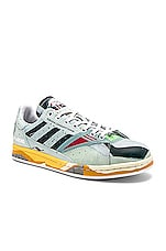 adidas by Raf Simons Torsion Stan Sneaker in White & Off White