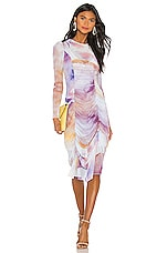 Aeryne Celine Dress in Aquarelle
