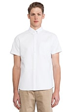 Aviator Shirt in Oxford White