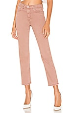 AG Adriano Goldschmied High Waisted Isabelle in 1 Year Sulfur Industrial Mauve