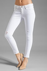 Leggings 7/8 en Blanc
