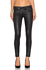 Leggings 7/8 en Leatherette Light Super Black