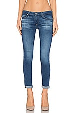 JEAN CROPPED STILT ROLL UP