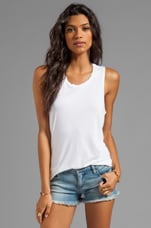 Hi-Lo Tank in White