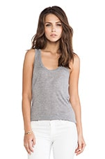 Wren Tank in Heather Grey