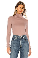 AG Adriano Goldschmied Chels Turtleneck in Light French Rose