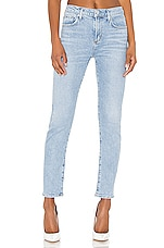 AGOLDE Toni Mid Rise Skinny in Daylight