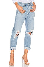 AGOLDE 90s Mid Rise Loose Fit in Fall Out