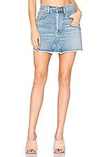 AGOLDE Quinn High Rise Mini Skirt in Devotee