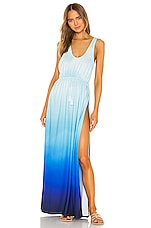 Agua Bendita x REVOLVE Leslie Dress in Blue Ombre