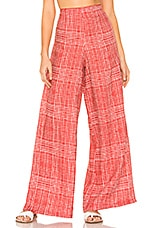 Agua Bendita x REVOLVE Amber Pant in Red