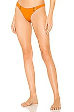 Agua Bendita Maya Bikini Bottom in Orange