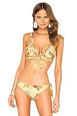 Agua Bendita Mia Bikini Top in Sunny Spring