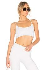 ALALA Barre Sports Bra in White