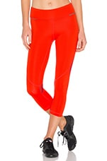 Captain Crop Tight in Fiery Red