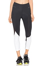 Captain Crop Tight en Black & Bone
