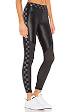 ALALA Varsity Legging in Black & Checker