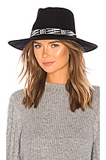 ale by alessandra Santa Fe Hat in Black