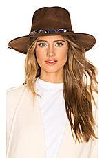 ale by alessandra Timber Hat in Brown