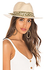 ale by alessandra Luca Hat in Natural & Green Leopard