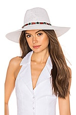 ale by alessandra Larimar Hat in White