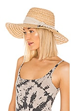 ale by alessandra Marigot Hat in Natural
