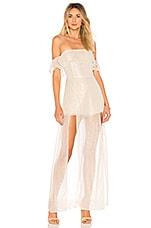 ale by alessandra x REVOLVE Betina Maxi Dress in Golden Lurex