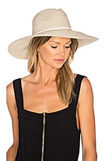 ale by alessandra Sancho Hat in White Tweed